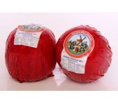 Edam balls cheese red