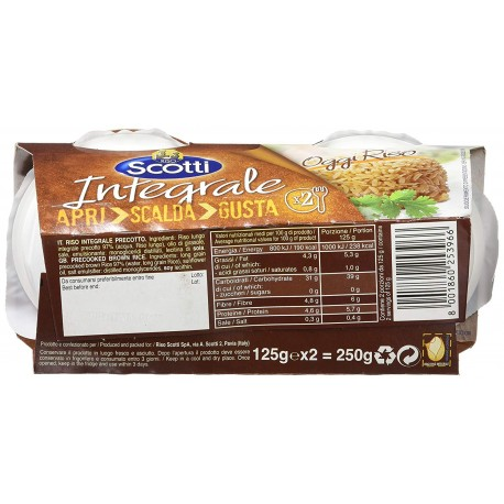 Precooked brown rice 250g