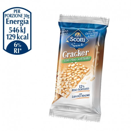 Crackers with puffed rice 30g