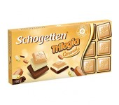White choco with caramel 100g