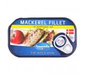 Mackarell fillet in oil 125g