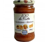 Apricot jam 100% fruit 240g