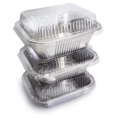 Alluminio conten with lids