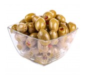 Green spicy pitted olives2.9kg