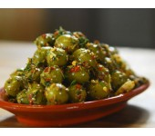 Green spicy olives 2.9kg